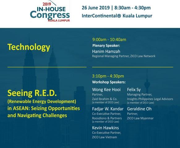 In-House Congress Kuala Lumpur 2019